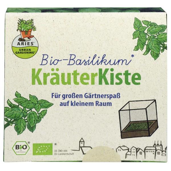 Kräuterkiste Bio-Basilikum