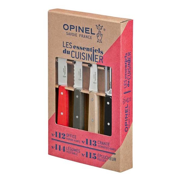 Küchenmesser-Set 4-tlg., rostfrei