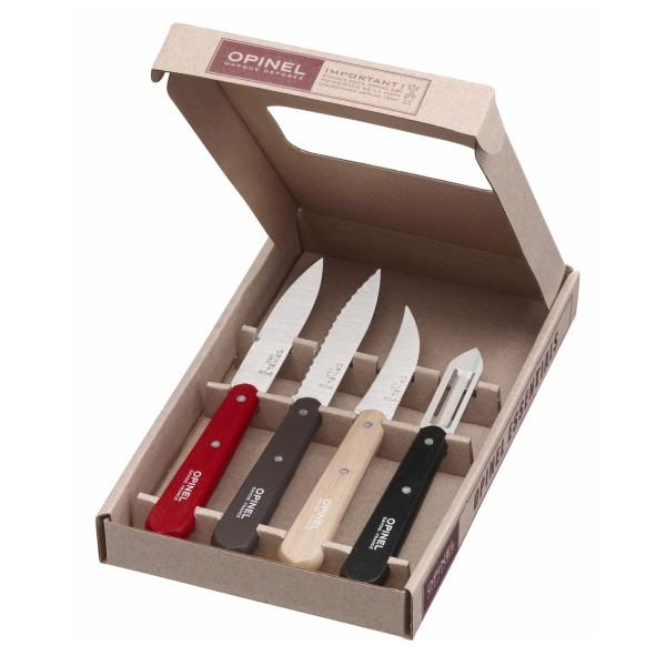 Küchenmesser-Set Essentials 4-tlg., rostfrei
