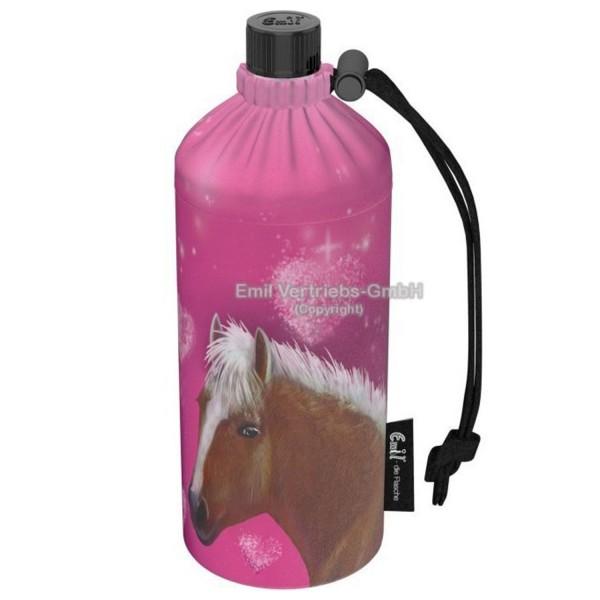 Emil Trinkflasche Pink Horse 0,4 Liter