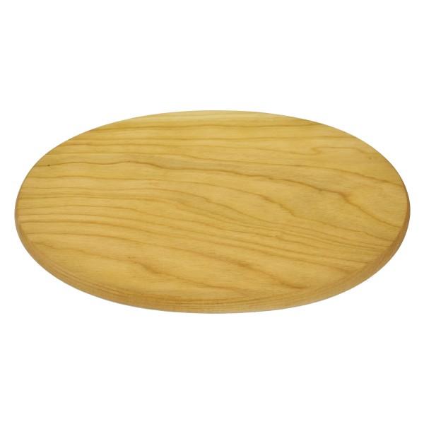 Schinkenteller Kirschholz oval