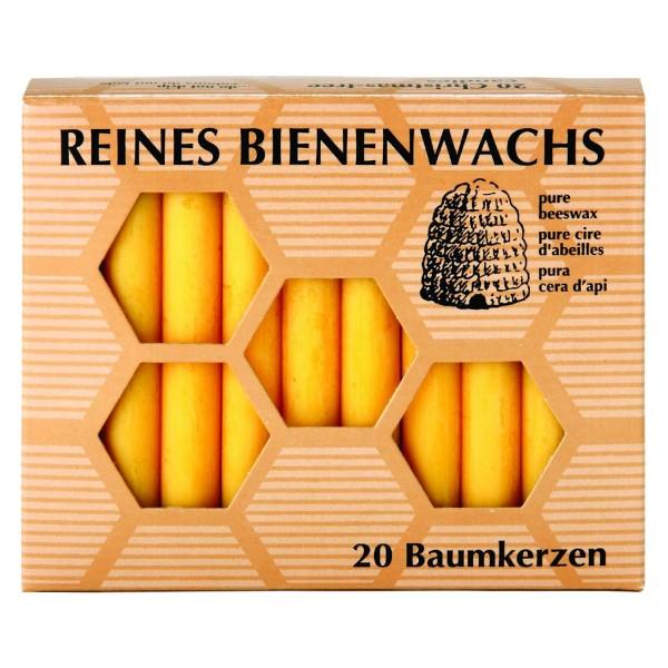 Baumkerzen Bienenwachs, 20 Stk.