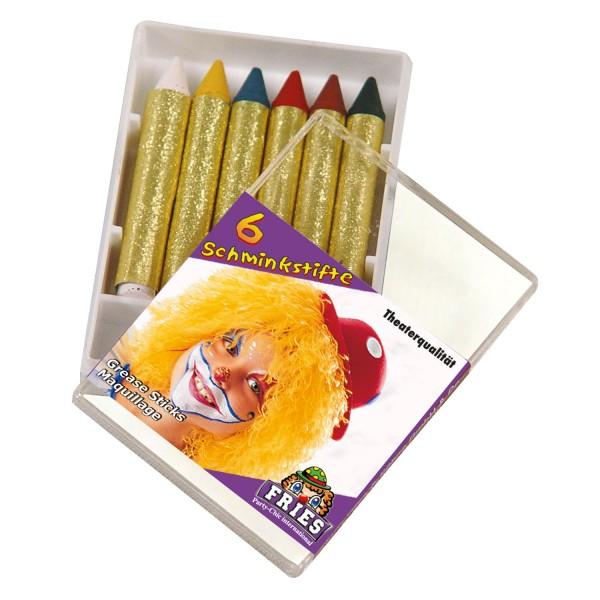 Schminkstifte, 6 Farben