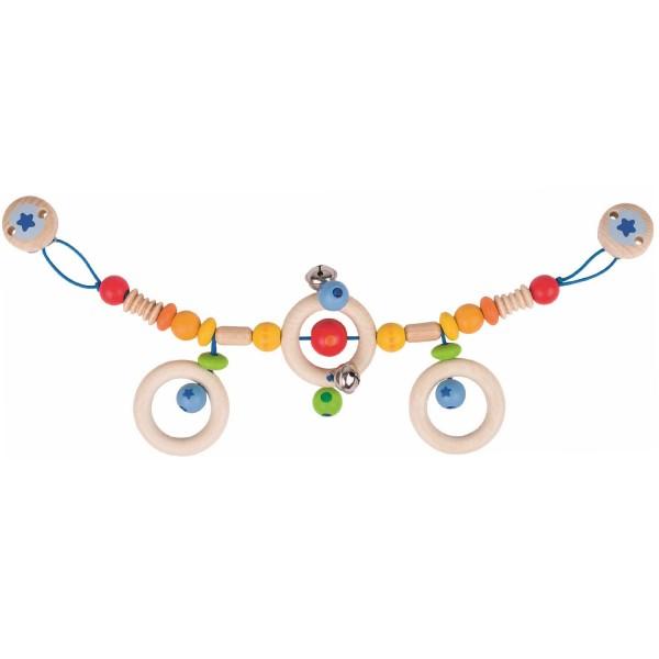Kinderwagenkette Regenbogen