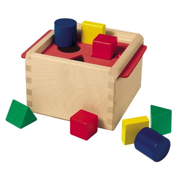 Steckspiel Sortierbox