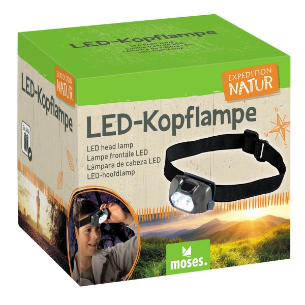 LED-Kopflampe Expedition Natur