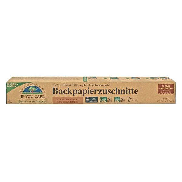 Backpapierzuschnitte, 24 Blatt