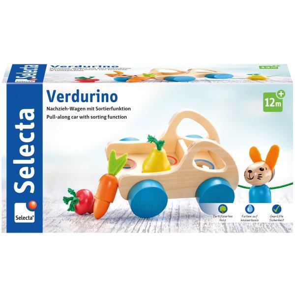 Nachzieh- und Sortierspielzeug Verdurino