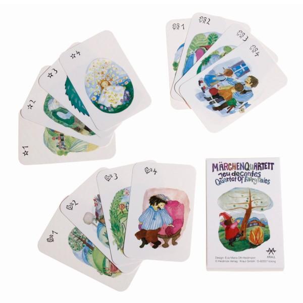 Märchenquartett, Kartenspiel