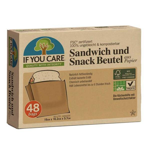 Sandwich und Snack Beutel, 48 Stk.