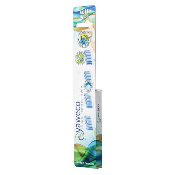Wechselköpfe für Zahnbürste, Nylonborsten soft, 4 Stk.