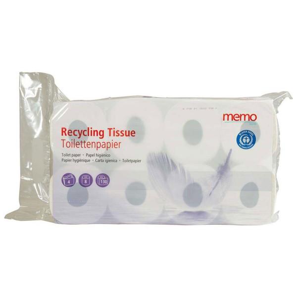 Toilettenpapier Recycling Tissue 4-lagig