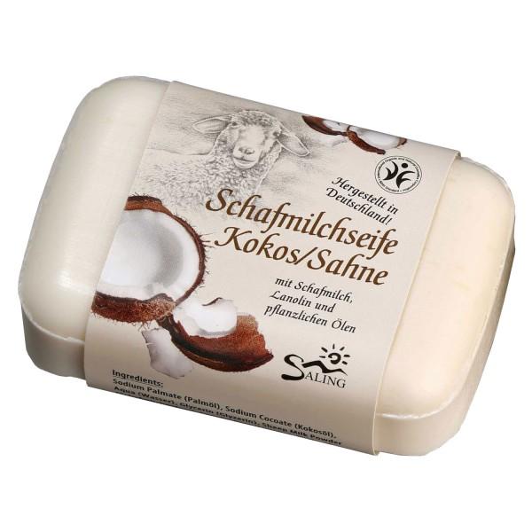 Schafmilchseife Kokos/Sahne