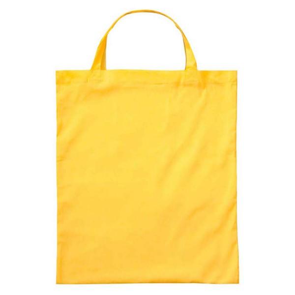 Baumwoll-Tragetasche gelb