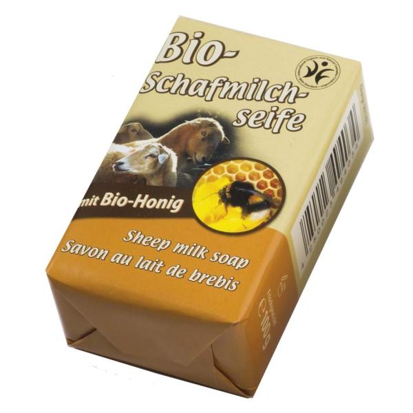 Bio-Schafmilchseife mit Bio-Honig