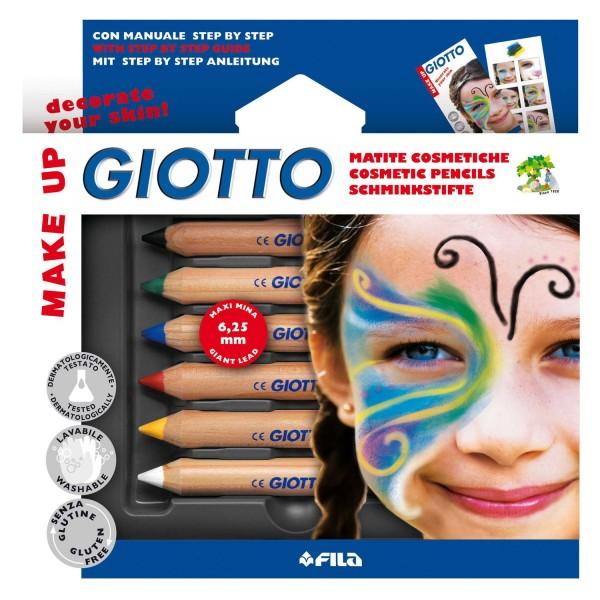 Make Up Schminkstifte, 6 Farben