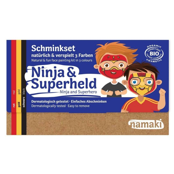 Kinder Schminkset Ninja & Superheld
