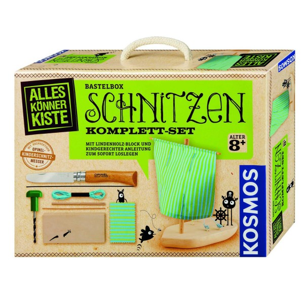Bastelbox Schnitzen