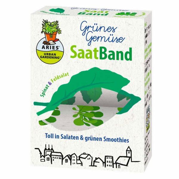 Saatband Grünes Gemüse