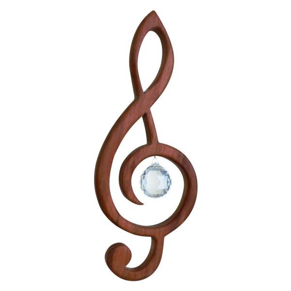 Fensterschmuck Violinschlüssel