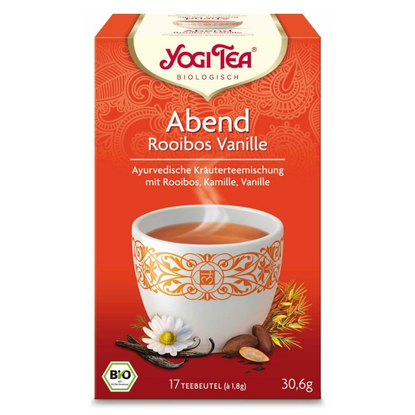 Yogi Tee Abend Rooibos Vanille