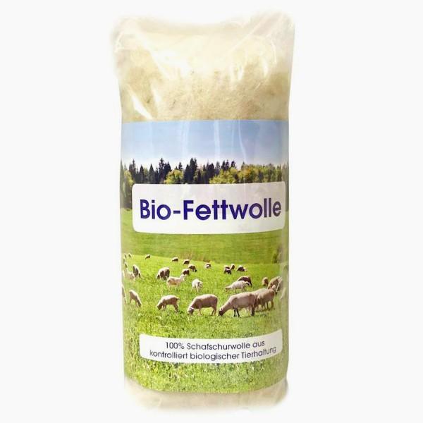 Bio-Fettwolle