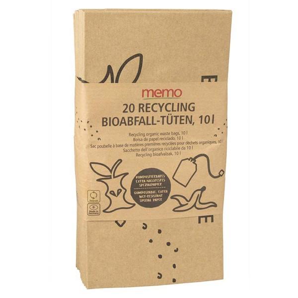 Bioabfall-Tüten 10 Liter, 20 Stk.