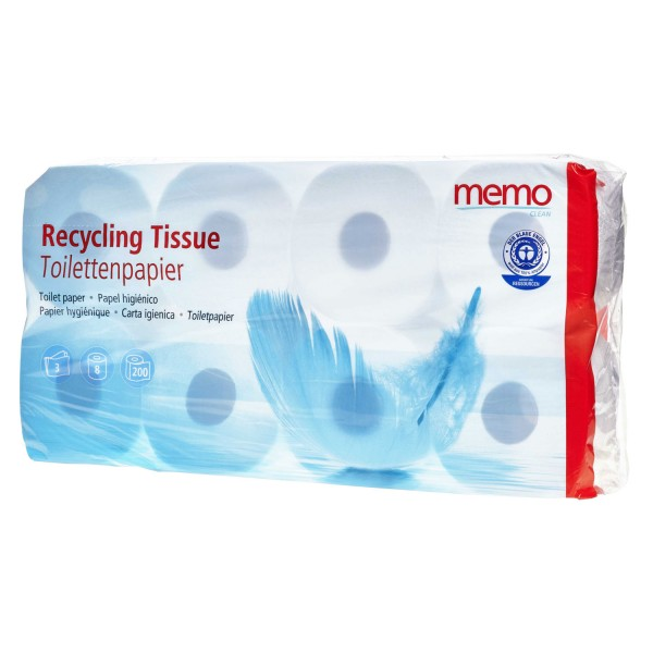 Toilettenpapier Recycling Tissue 3-lagig