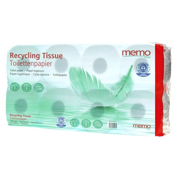 Toilettenpapier Recycling Tissue 2-lagig
