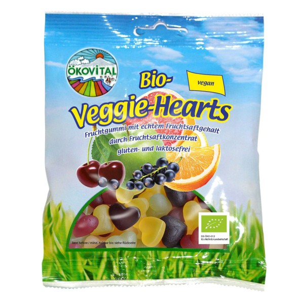 Bio-Veggie-Hearts, Fruchtgummi